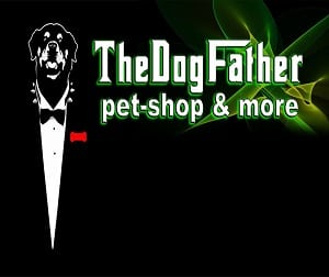 thedogfather pet shop logo 300x252